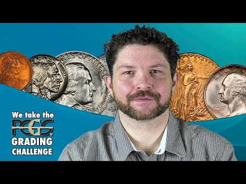 CoinWeek: We Take the PCGS Grading Challenge! - 4K Video