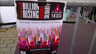 JEANE ON THE ROAD : 1 BILLION RISING 2018 BERLIN