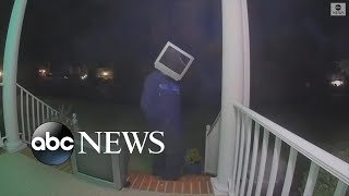 Prankster leaves old TV sets on porches in Virginia