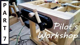 How to build the Ultimate Workbench - part 7 - Installing the twin screw vise
