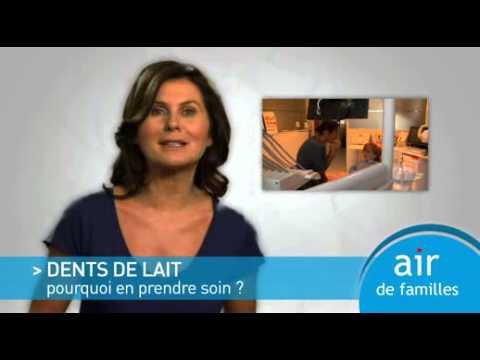 Air de Familles - Dents de lait: pourquoi en prendre soin?