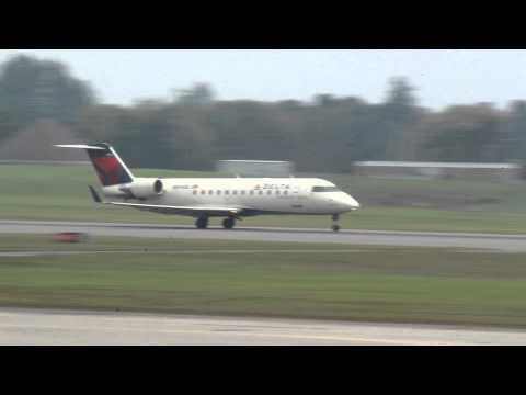 Delta Express CRJ Takeoff from Ottawa (YOW) to Detroit (DTW)