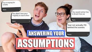 ANSWERING YOUR ASSUMPTIONS!!!! BEING DIFFERENT OFF CAMERA? LOSING OUR VIRGINITY, HAVING MORE BABIES