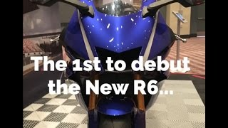exclusive yamaha r6 debute review amiexpo 2016 win a r1