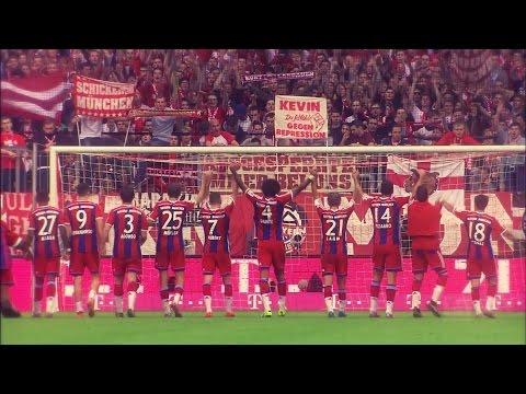 FC Bayern München - So Much Love (Hinrunde 14/15 Tore)
