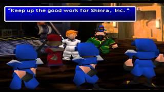 Final Fantasy VII (PS 1) Part 14 - Junon (2) / Cargo Ship
