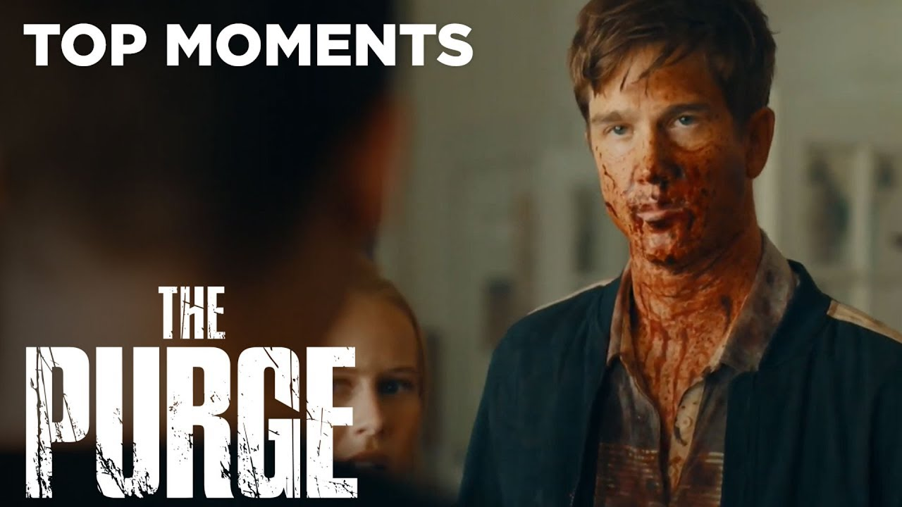The Purge (TV Series) | Season 2 Episode 2: Bloody Ben Shows Up After Purge Night | USA Network