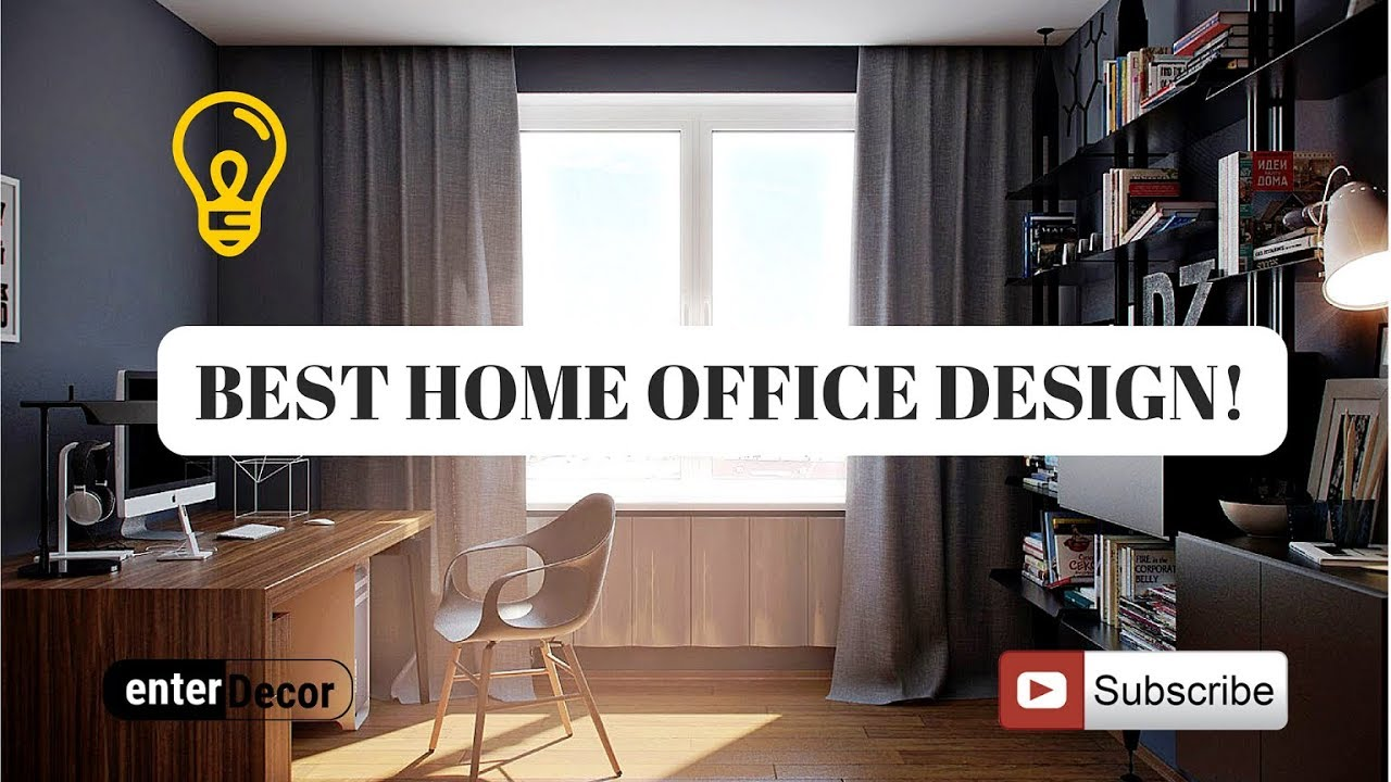 Best home office design ideas that will inspire your for Office design productivity research