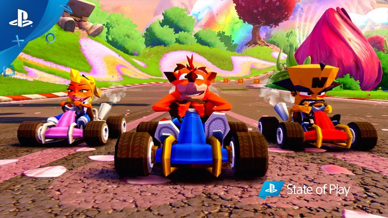 Crash Team Racing Nitro-Fueled | Tráiler de revelación de exclusivos PS4 y contenido CNK