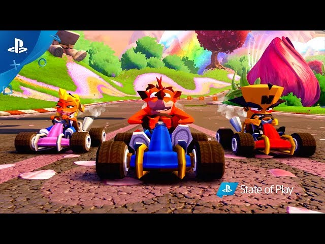 Crash Team Racing Nitro-Fueled – PS4 Exclusives & CNK Content Reveal Trailer