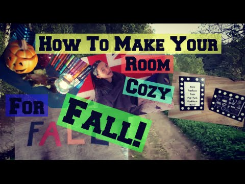 how to make your room fall