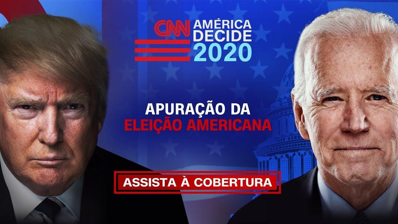 AMÉRICA DECIDE - Início da apuração da eleição entre Trump e Biden