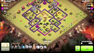 Clash of Clans | TH8 Surgical Hog and GoWiPe | Blood Lust Recap