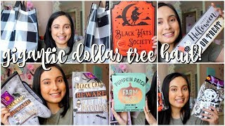 GIGANTIC DOLLAR TREE HAUL! SHOCKING HALLOWEEN FINDS AND MORE!