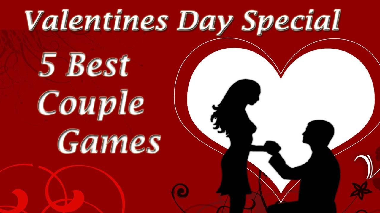 5 Couple Games Valentines Day Kitty Party Youtube