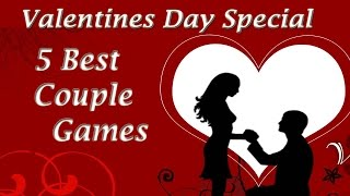 5 Couple Games Valentines Day Kitty Party