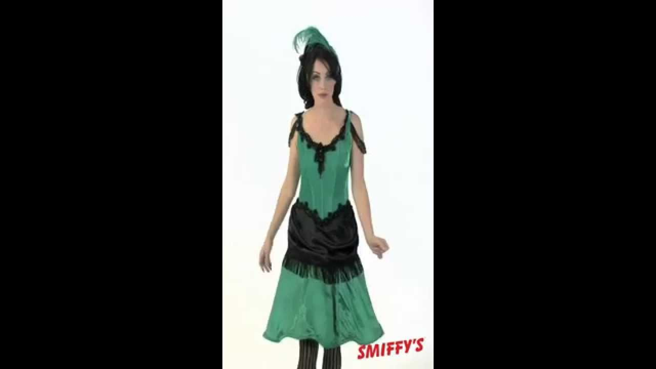 Authentic Western Saloon Girl Costume & Authentic Western Saloon Girl Costume - YouTube