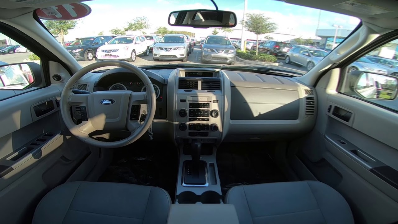 2011 ford escape xlt interior