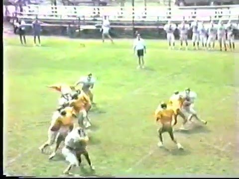 Fleming-Neon Pirates 1991 Football Season Highlight Film