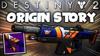 Destiny 2 - New ORIGIN STORY Auto Rifle | Vanguard Quest Weapon (Destiny 2 Crucible Live Gameplay)