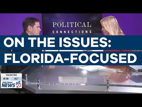 Senator Rubio Sits Down for 'Political Connections' Interview