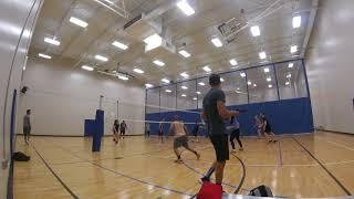 June 8, 2018 Open Gym Volleyball Highlights