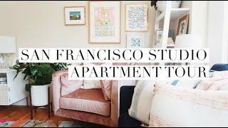 Cute & Colorful San Francisco Studio Apartment Tour!