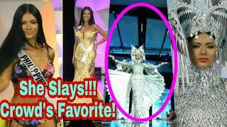 Gazini Ganados Napasigaw Ang Mga Manood Sa Kanyang Full Preliminary Performance! Miss Universe 2019