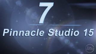 7_Видео монтаж в Pinnacle Studio 15 - урок 1
