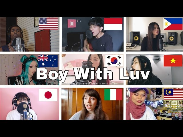 Who Sang It Better : BTS - Boy With Luv ft. Halsey (australia,south korea,philippines,italy,japan ) #1