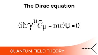 The Dirac Equation - 4.3