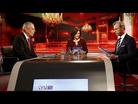 Austrian election: presidential debate descends in to slander and name calling