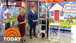 Lou Manfredini's Life Changers: Quick Curtain Hangers, Extending Ladder | TODAY