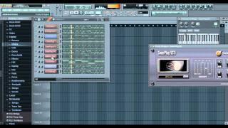 Tera Suroor - cover FL Studio