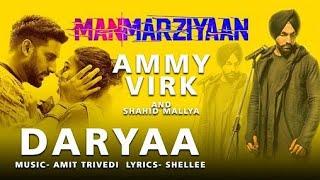 Daryaa, by ammy virk
