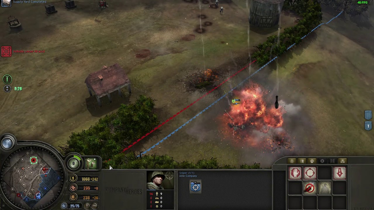 Company Of Heroes Walkthrough Part 9 Hill 192 Invasion Of