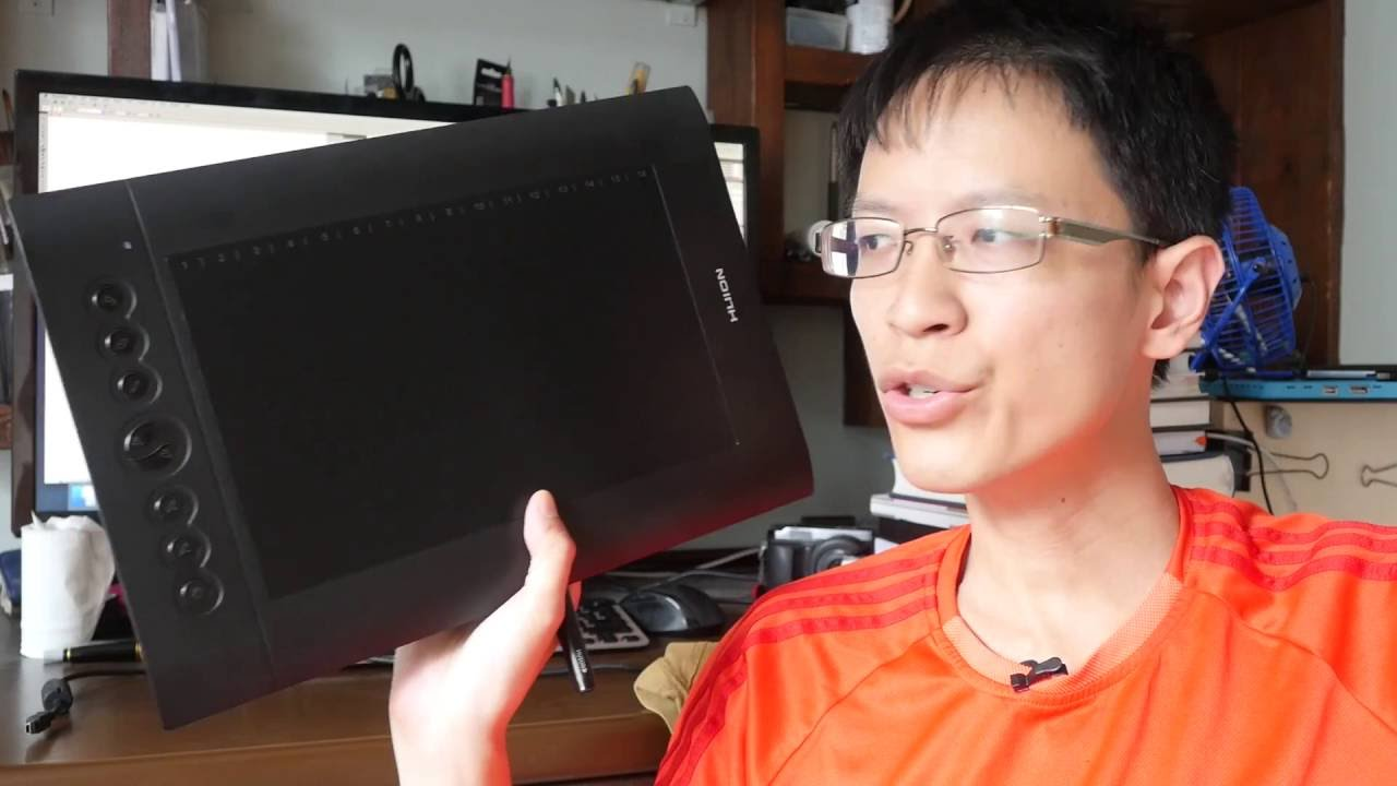 Review: Huion H610 Pro Graphics Tablet for Artists