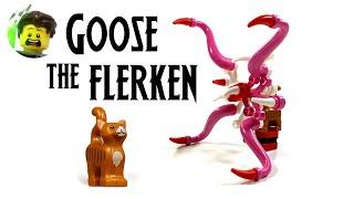 LEGO Custom Goose the Flerken Build Tutorial - SDCC 2019 Exclusive