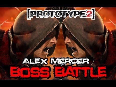 Prototype 2 - Boss Battle - Alex Mercer VS Alex Mercer [With Diffrenent Skins] (HD 1080p)