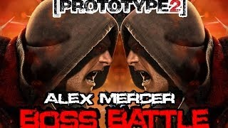 Prototype 2 - Boss Battle - Alex Mercer VS Alex Mercer [With Diffrenent Skins] (HD 1080p)