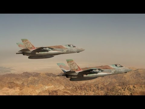 Israel : F-35 Warplane Was Hit By Syrian S-200 Missile