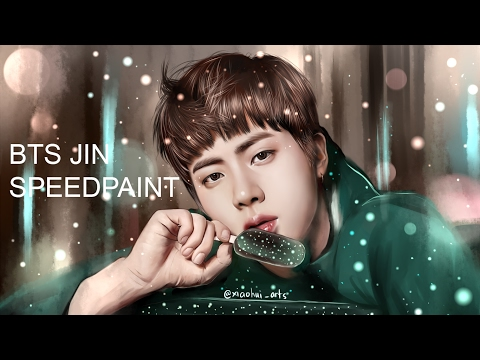 BTS Jin (You Never Walk Alone) Speedpaint