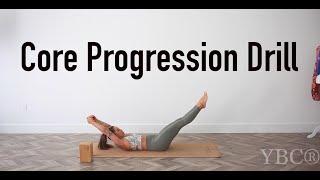Core Progression Yoga Move for Core Strength