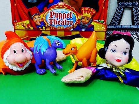 PUPPET THEATRE HAND PUPPET toys,tols,fun toys,eğlenceli çocuk videosu