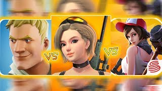 🔥 FORTNITE MOBILE VS CREATIVE DESTRUCTION VS FORTCRAFT 🔥 COMPARISON - The Best Series EP-6