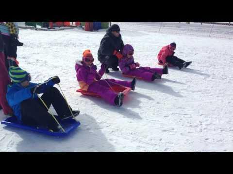 Mt Selwyn Snowfields Toboggan Race Three 2015