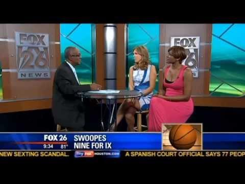 Hannah Storm & Sheryl Swoopes FOX 26 Houston