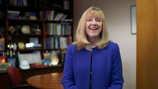Dean Joyce Strawser on Giving Day at Seton Hall