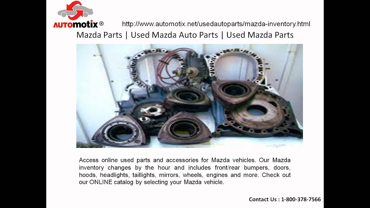 best in class used mazda auto parts online - youtube