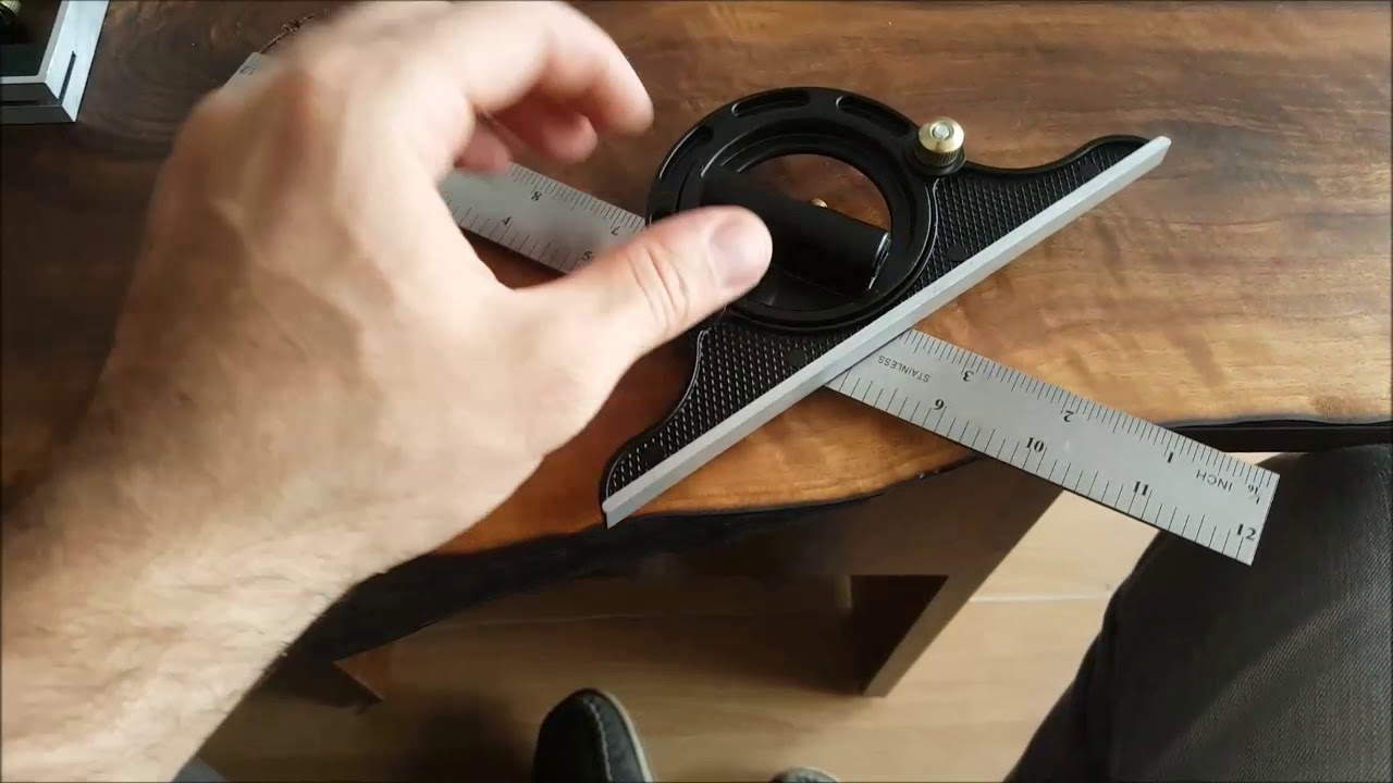 Geometrik açılı gönye kullanımı?